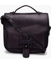 Opening Ceremony - Black Patent Shoulder Bag - Lyst