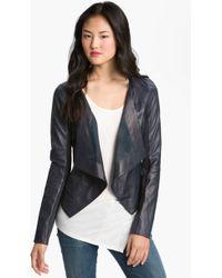 Trouvé Cascade Leather Jacket - Lyst