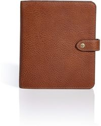 Mulberry Oak Natural Veg Tanned Agenda - Lyst