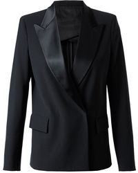 Acne Lee Tux Woolblend Tailored Jacket - Lyst