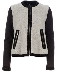 Neil Barrett Two Tone Jacket - Lyst