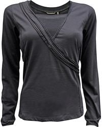Sandwich - Sandwich Wrap Top Dark Cloud - Lyst
