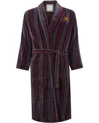 Howick - Striped Badge Robe - Lyst