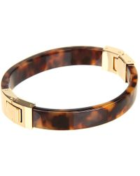 Michael Kors Heritage Hinge Bangle - Lyst