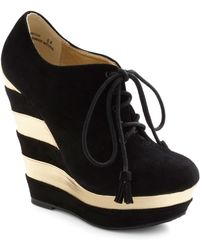 ModCloth | The Fame Game Wedge | Lyst