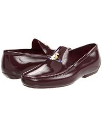 Vivienne Westwood Man Plastic Moccasin with Orb - Lyst