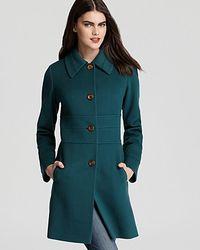 Fleurette Wool Coat - Lyst