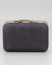 House of Harlow 1960 - Marley Snakeclasp Clutch Bag Black - Lyst