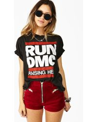 Nasty Gal Run Dmc Raising Hell Tee - Lyst