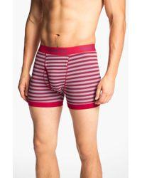 Topman Stripe Boxer Briefs - Lyst