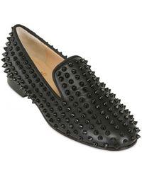 christian louboutins for men - christian louboutin velvet cap-toe intern loafers, replica ...