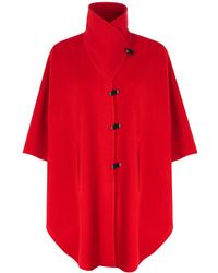 Jacques Vert - Classic Red Cape - Lyst