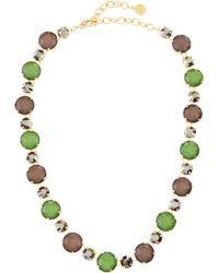 R.j. Graziano - Cool Multistone Necklace - Lyst