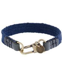 J.Crew - Caputo Co Handwoven Textile Bracelet - Lyst