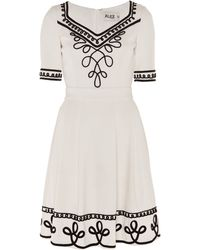 Alice By Temperley Mini Blake Dress - Lyst