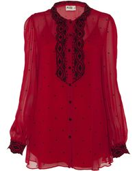 Alice By Temperley - Mitford Blouse - Lyst