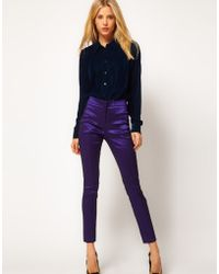 ASOS Collection Asos Skinny Crop Trousers - Lyst