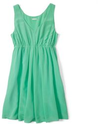 Club Monaco Bailey Silk Dress - Lyst