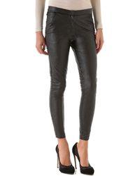 Heidi Merrick - Brummel Faux Leather Trousers - Lyst