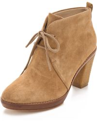 Kors by Michael Kors Lena Lace Up Booties - Lyst