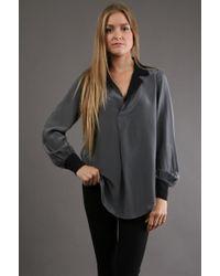 Fifteen-twenty Contrast Shirt - Lyst