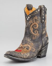 Old Gringo - Little G Embroidered Bootie - Lyst