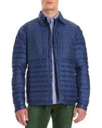 Relwen - Lightweight Down Shirt Jacket - Lyst