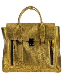 3.1 Phillip Lim Leather Tote - Lyst