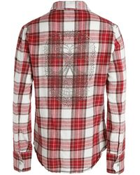 Zadig & Voltaire Shirt Tabel Carreaux - Lyst