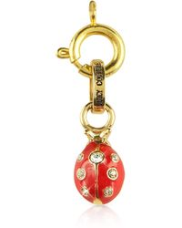 Juicy Couture - Crystal Ladybug Charm - Lyst
