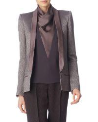 Haider Ackermann Jacquard Tuxedo Jacket - Lyst
