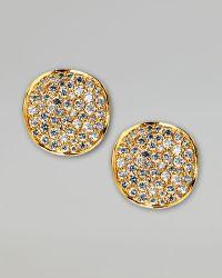 Ippolita Stardust Diamond Stud Earrings multicolor - Lyst