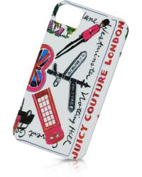 Juicy Couture - London Case For Iphone - Lyst