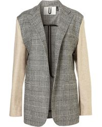 Topshop Dogtooth Blazer By Unique - Lyst