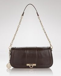 DKNY Shoulder Bag Beekman Lizard - Lyst