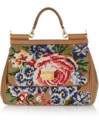 Dolce & Gabbana 'Dolly' Shoulder Bag floral - Lyst