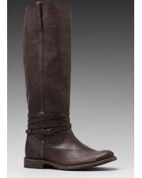 Frye Shirley Riding Plate Boot - Lyst