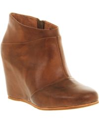 Ugg Carmine Wedge Boot brown - Lyst