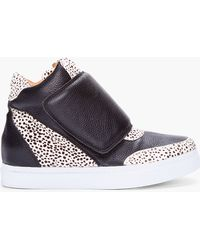 Jeffrey Campbell - Spotted Calfhair Prism Sneakers - Lyst