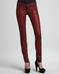 Sold Denim - Coated Skinny Jeans - Lyst