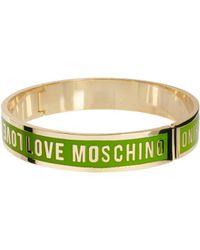 Love Moschino Logo Bracelet - Lyst