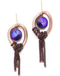 Gemma Redux - Tanzanite Earrings - Lyst