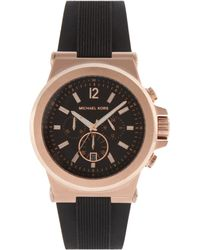 Michael Kors Silicone Watch - Lyst