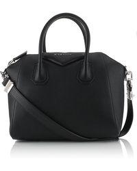 Givenchy Black Small Antigona Tote - Lyst
