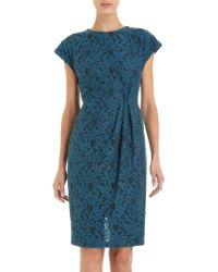 L'Wren Scott Floral Lace Dress - Lyst