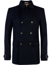 Ted Baker - Gimjee Plain Reefer Coat - Lyst