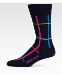 BOSS Orange - Multicolored Cotton Blend Socks - Lyst