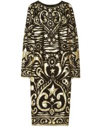 Emilio Pucci Silkblend Georgette and Lamé Brocade Dress - Lyst