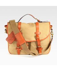 Polo Ralph Lauren - Waxed Twill Messenger - Lyst 7805176e2a