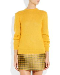 Richard Nicoll - Mohairblend Sweater - Lyst